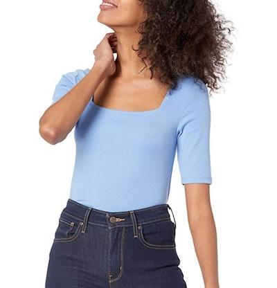 Amazon Essentials Square Neck T-Shirt