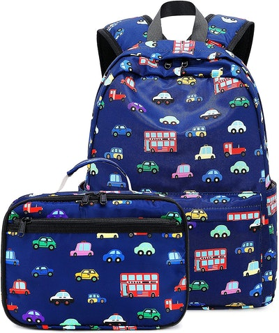 CAMTOP Backpack With Lunch Box For Toddlers