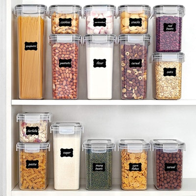 Vtopmart Airtight Food Storage Containers with Lids (15 Pieces)