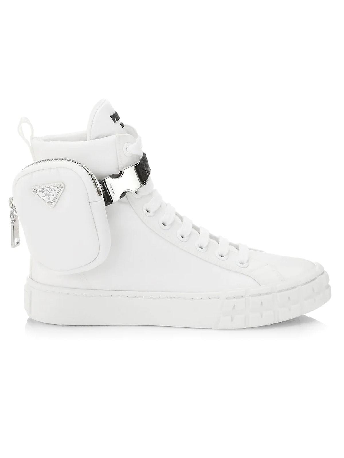 Prada Pocket High-Top Sneakers