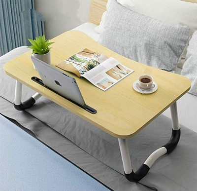 JIIKOOAI Foldable Bed Tray
