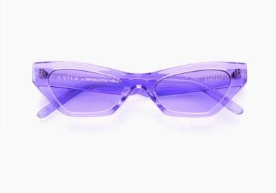 Vector Purple Sunglasses