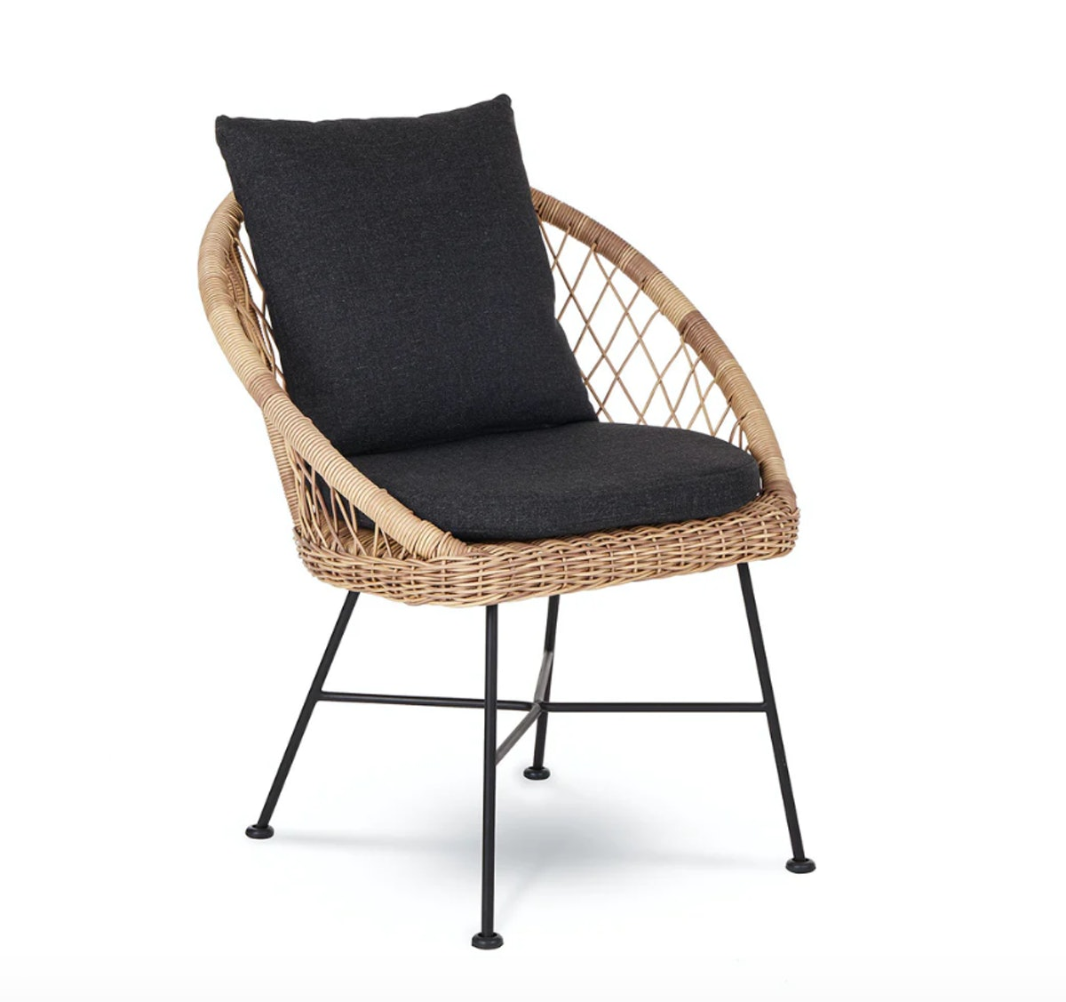 Aeri Slate Gray Dining Chair