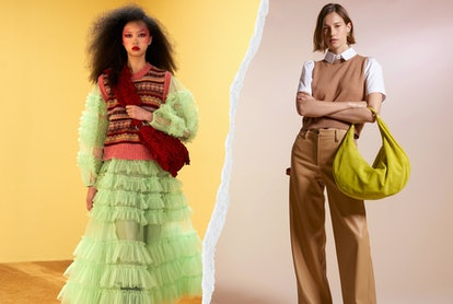 See the Fall 2021 trends everyone will be wearing, from '90s sweater vest to 2000s bubblegum pink.