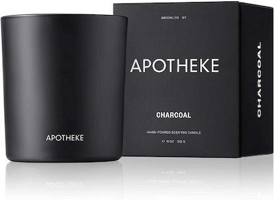 APOTHEKE Charcoal Candle, 11 Oz.
