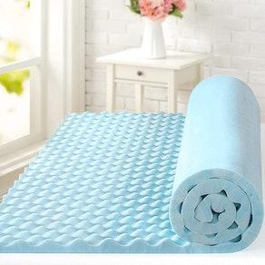 ZINUS Cooling Gel Memory Foam Mattress Topper