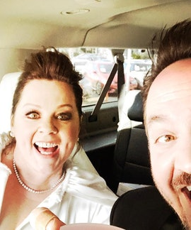 Melissa McCarthy and husband, Ben Falcone, are comedians.