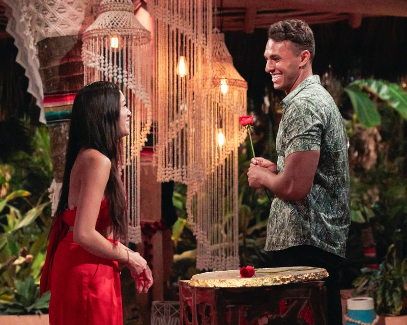 Aaron Clancy gave his first rose to Tammy Ly but it wasn't reciprocated at the second rose ceremony....