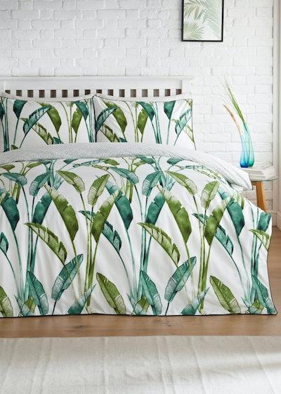 Palm Print Duvet Cover