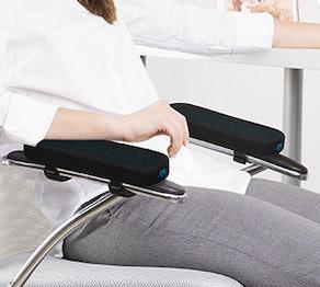 Everlasting Comfort Office Chair Armrest Pads (Set of 2)