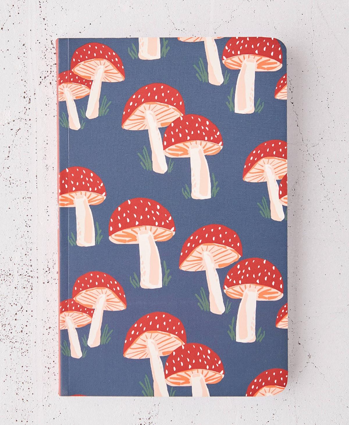 Denik Mushroom Notebook