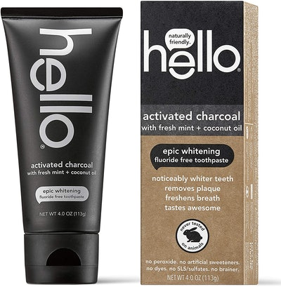 Hello Oral Activated Charcoal Teeth Whitening Toothpaste