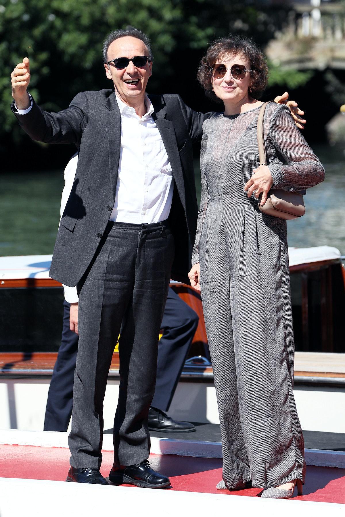 Nicoletta Braschi and Roberto Benigni