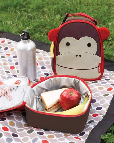 Skip Hop Kids Zoo Lunch Box, Monkey