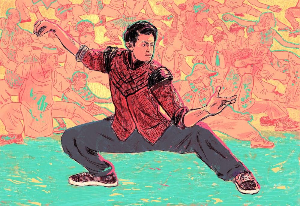 Artist John Lee's interpretation of Shang-Chi.
