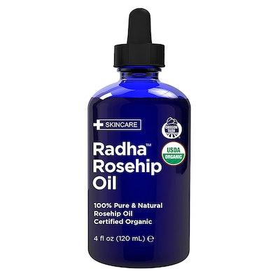 Radha Beauty USDA Certified Organic Rosehip Oil