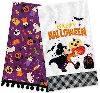 Mickey Mouse & Friends Halloween Kitchen Towel Set