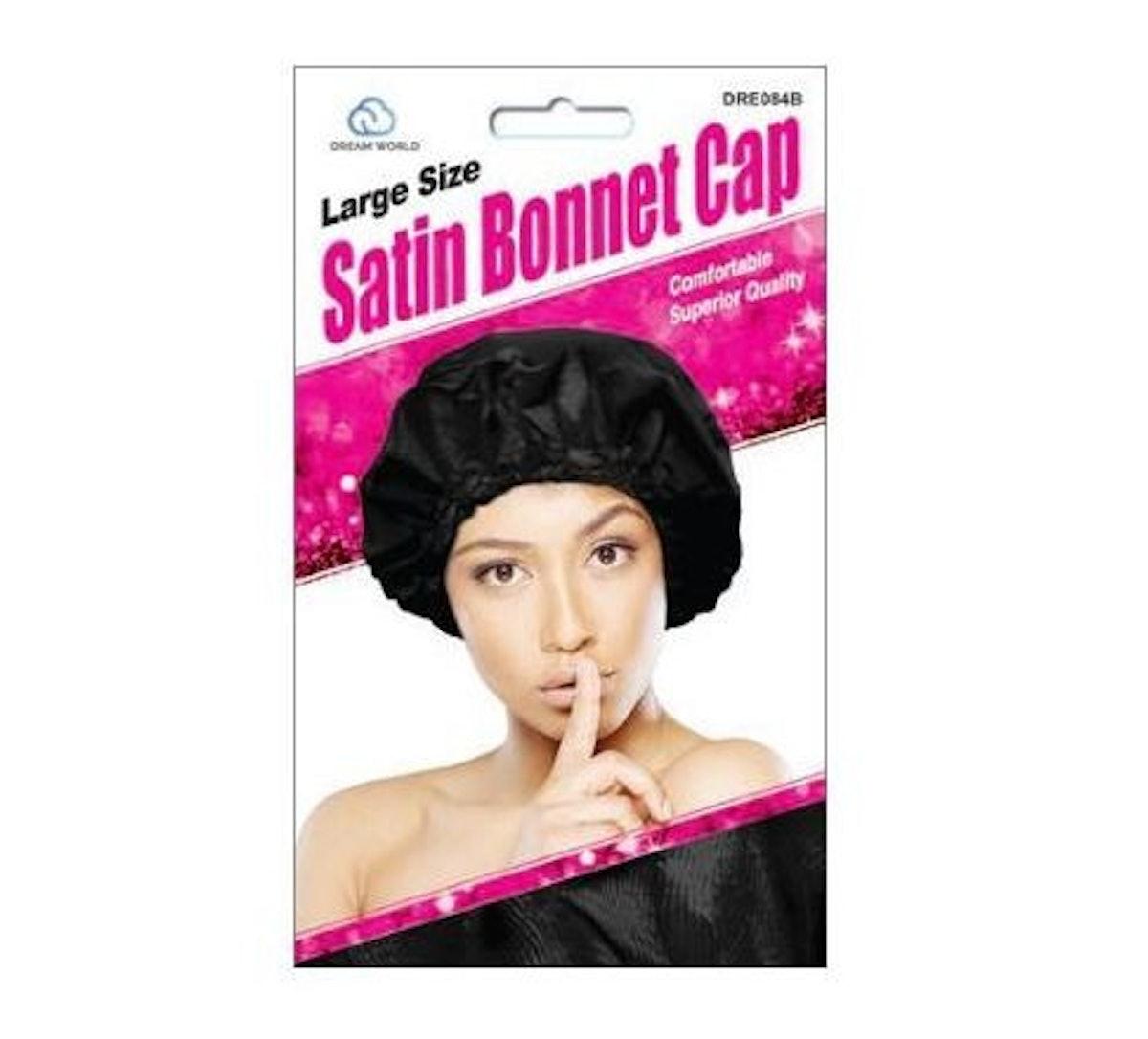 Large Size Satin Bonnet
