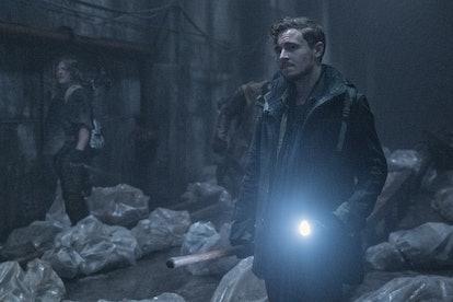 Callan McAuliffe plays Alden on 'The Walking Dead.' Photo via AMC