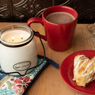 Milkhouse Candle Company Apple Strudel Candle, 16 Oz.