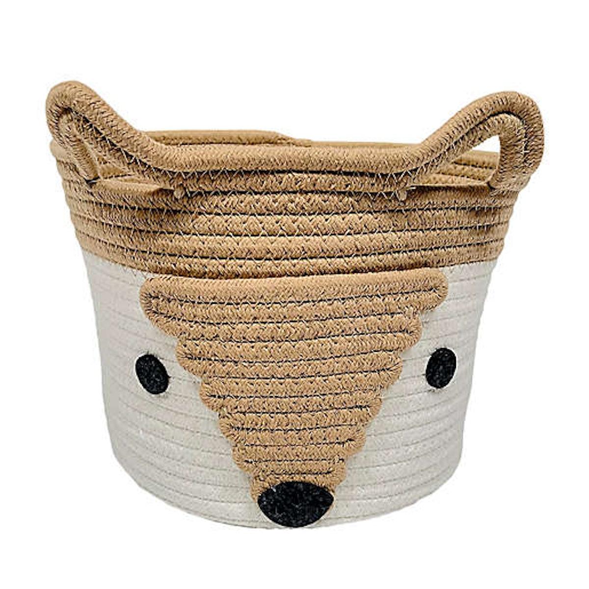 Fox Rope Storage Basket