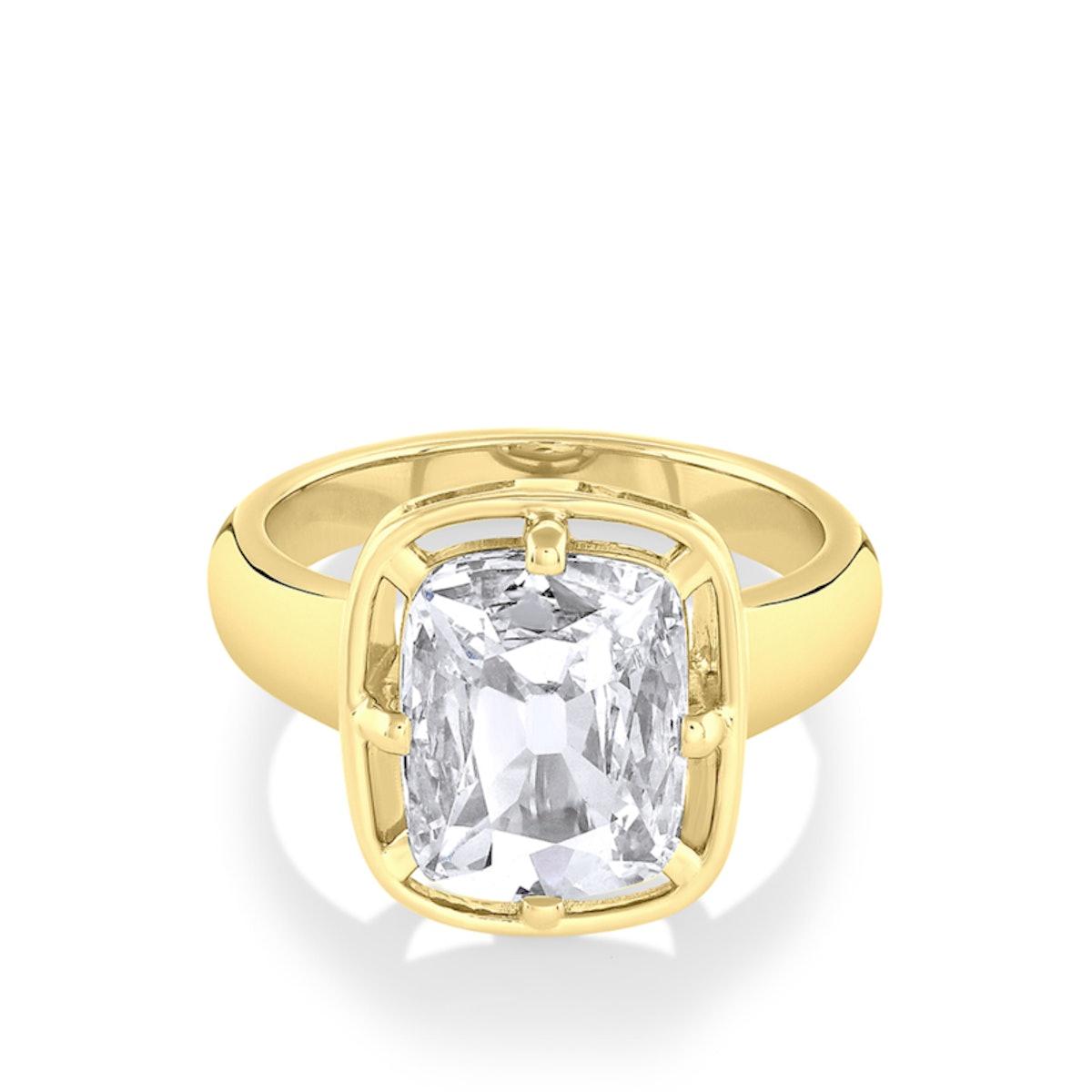 3.01ct Cushion Diamond Georgia Engagement Ring from Marrow Fine.