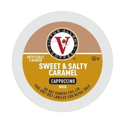 Victor Allen's Sweet & Salty Caramel Cappuccino (42 Pods)