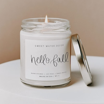 Sweet Water Decor Hello Fall Candle, 9 Oz.