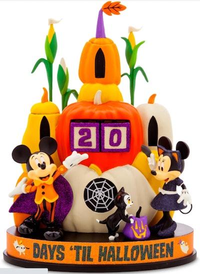 Mickey & Minnie Mouse Halloween Countdown Calendar
