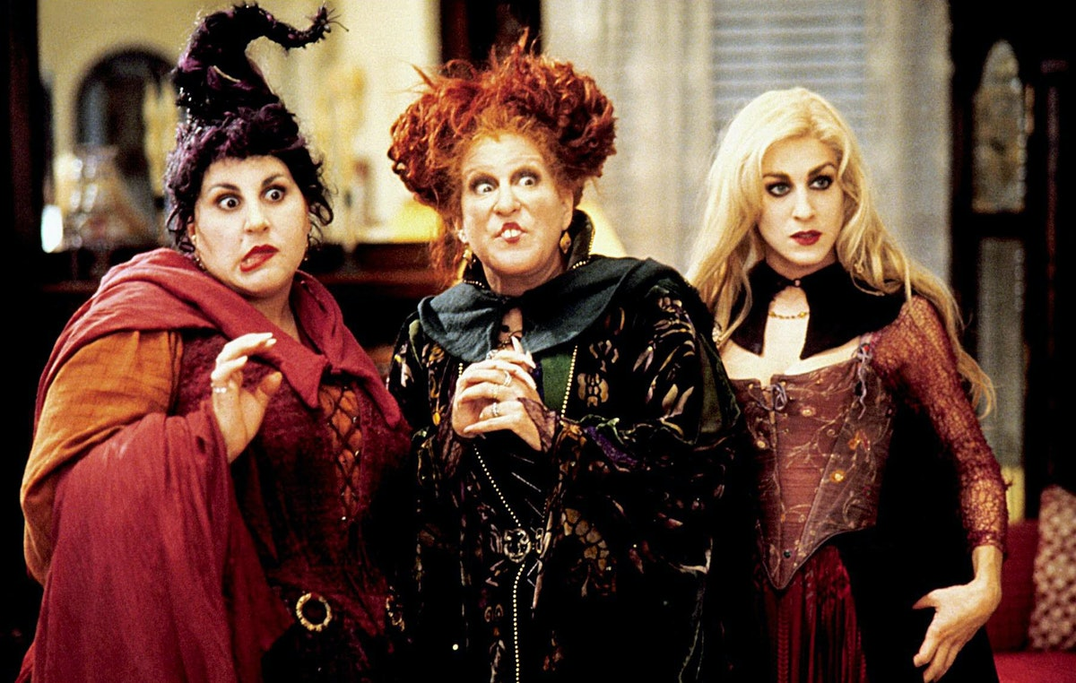 Bette Midler, Sarah Jessica Parker, Kathy Najimy in 'Hocus Pocus'
