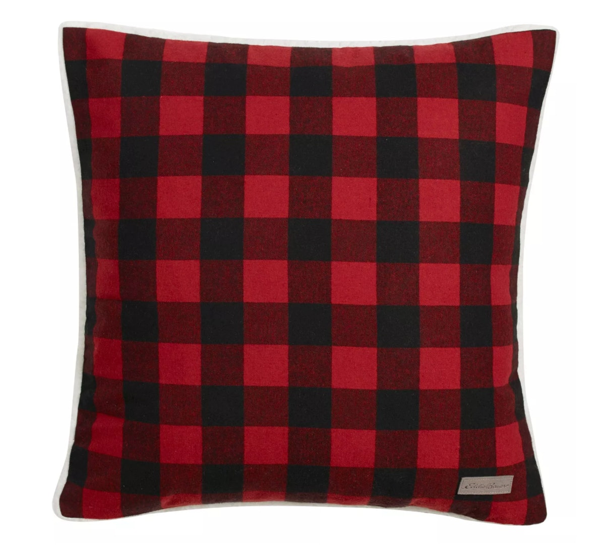 Plaid Flannel Throw Pillow