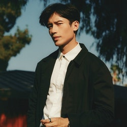 Manny Jacinto in August 2021 at Burbank's Mountain View Park.
