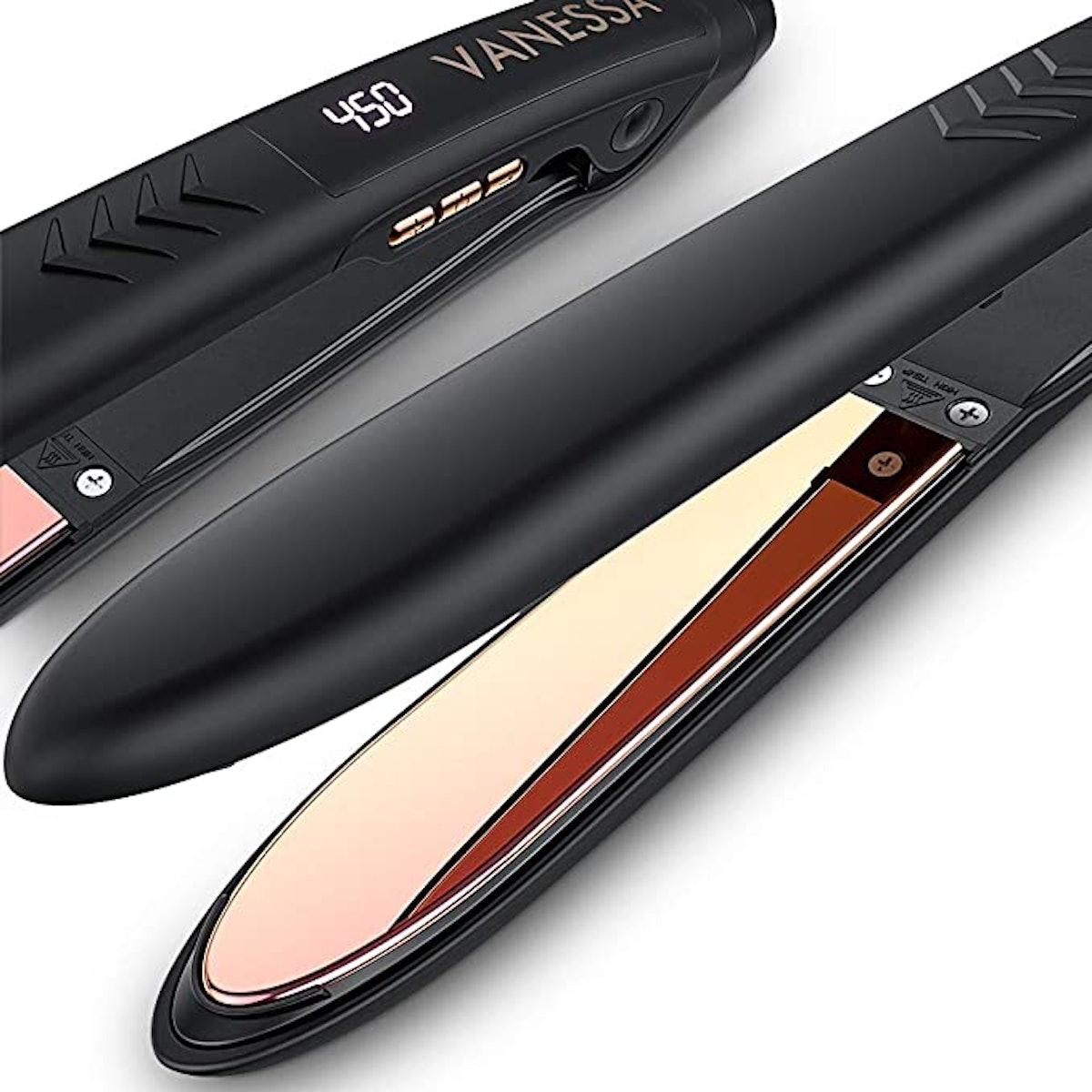 VANESSA Flat Iron Hair Straightener and Curler