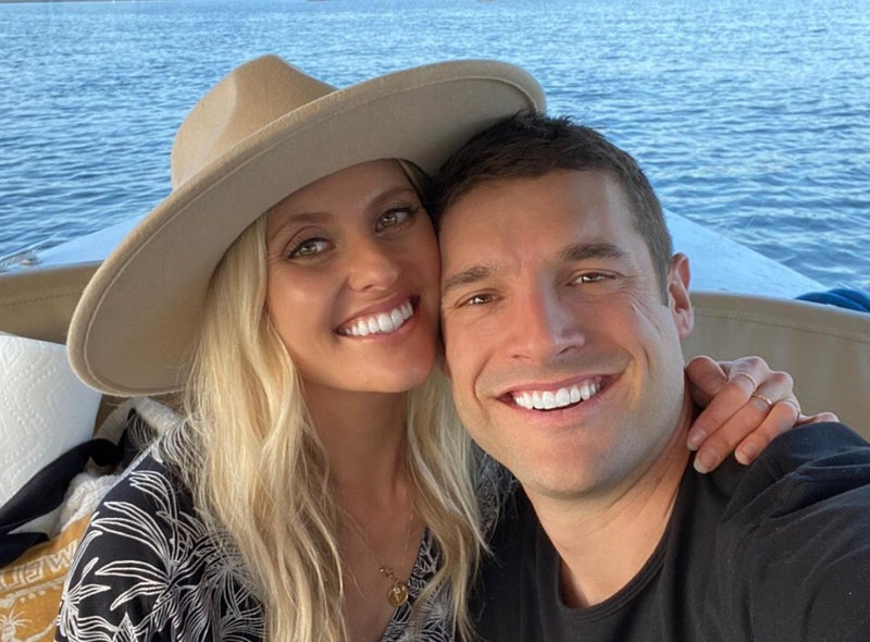 Garrett Yrigoyen celebrating his first anniversary with girlfriend Alex Farrar