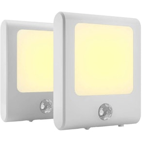 MAZ-TEK Plug-In Motion-Sensor Lights (2-Pack)