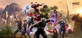Marvel's Avengers hero roster