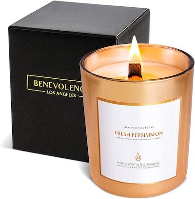 Benevolence LA Fresh Persimmon Candle, 8 Oz.