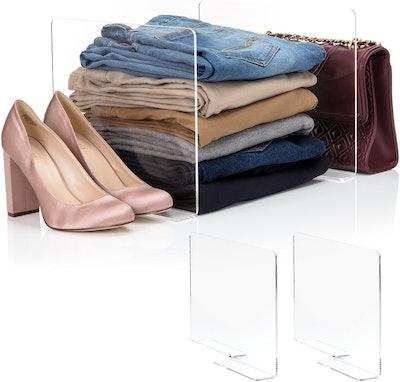 Home For Each Closet Organizer (2-Pack)