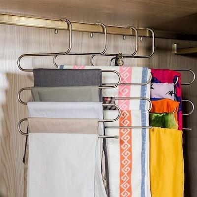DOIOWN S-Type Pants Hangers (Set of 3)