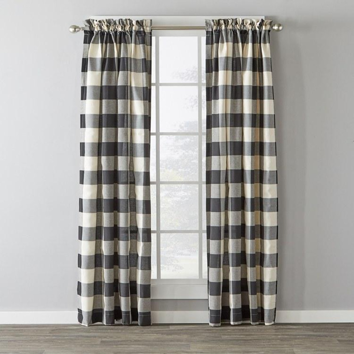 Black Grandin Curtains