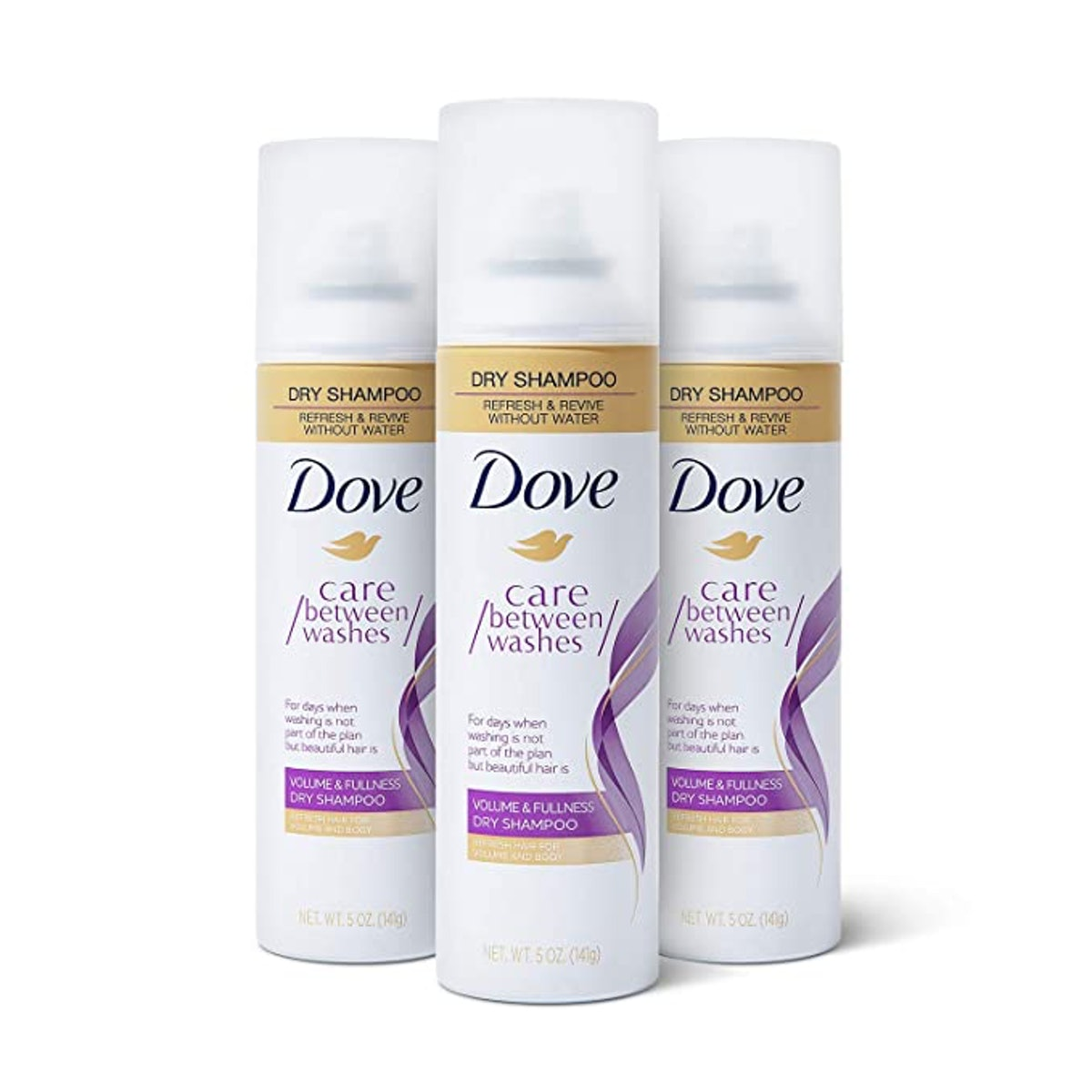 Dove Dry Shampoo Hair Treatment for Oily Hair (3-Pack)