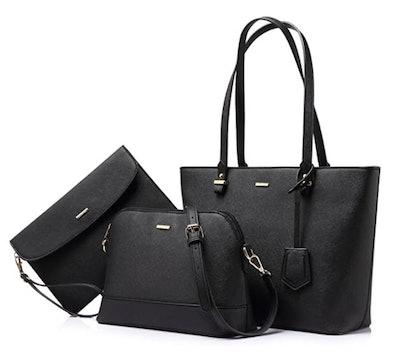 LOVEVOOK Handbag Set (3 Pieces)