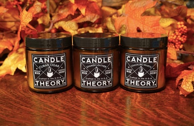 Candle Theory Cozy Lounge Variety Set, 4 Oz. (3-Pack)