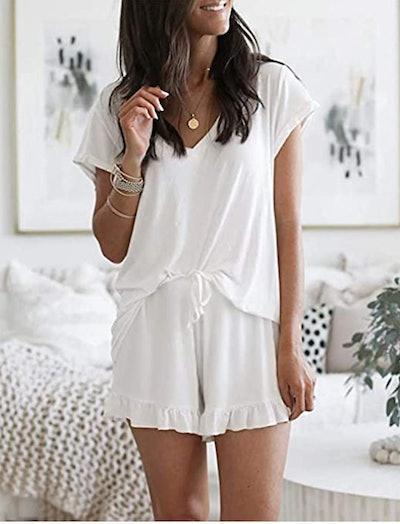 LuckyMore Pajama Set