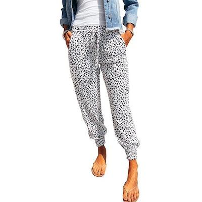 Dokotoo Drawstring Waist Jogger Pants with Pockets