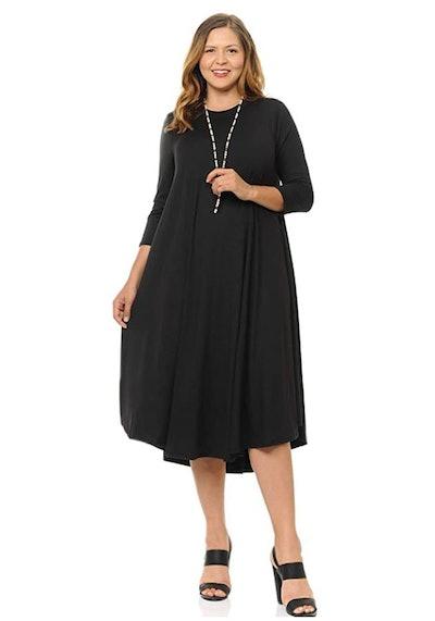 Pastel by Vivienne Plus Size Swing Midi Dress
