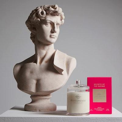 Glasshouse Fragrances Secrets Of The Sistine Chapel Candle, 13.4 Oz.