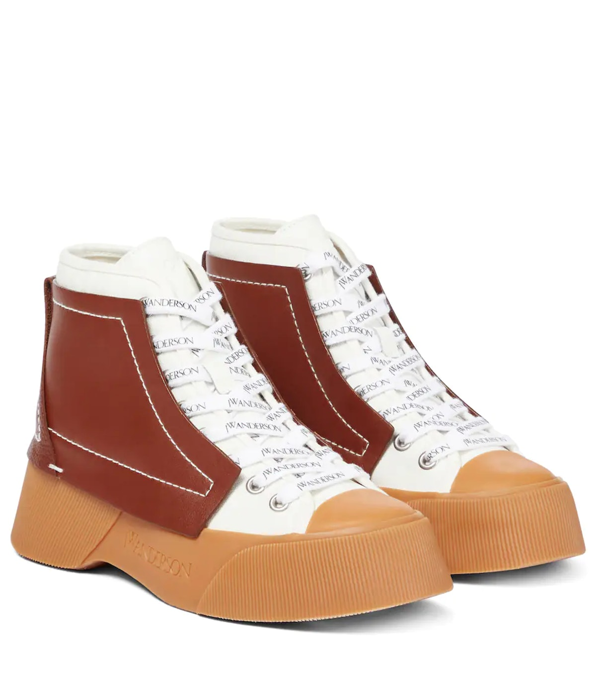 JW Anderson Trainer High-Top Sneakers