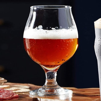 Libbey Craft Brews Classic Belgian Beer Glasses (4-Pack)