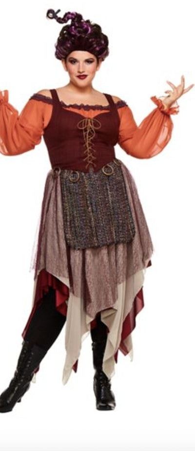 Woman in a Mary Sanderson costume